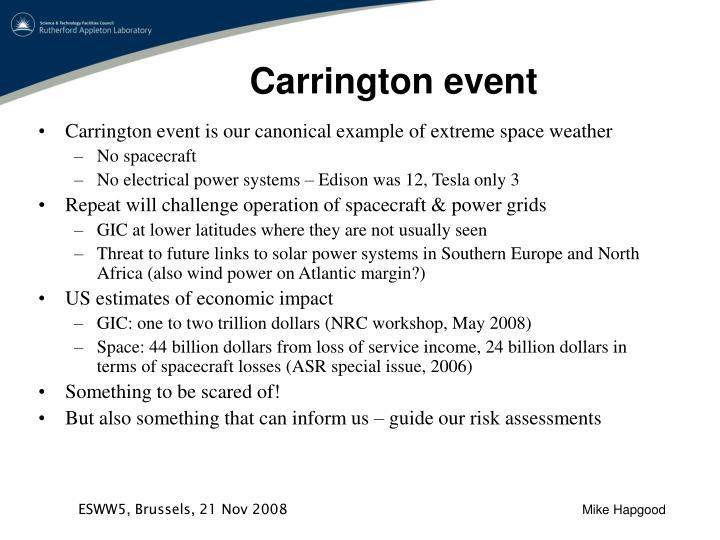 Carrington event