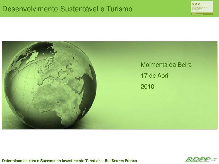 Desenvolvimento Sustentável e Turismo