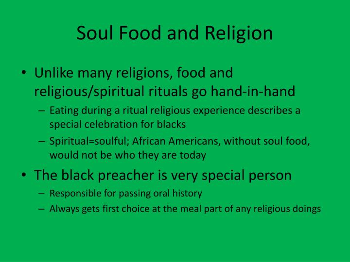 Soul Food and Religion