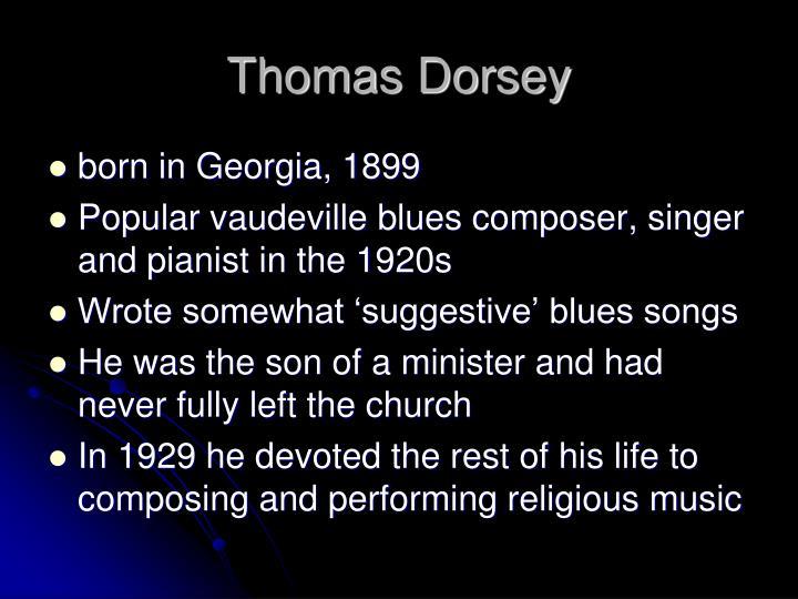 Thomas Dorsey