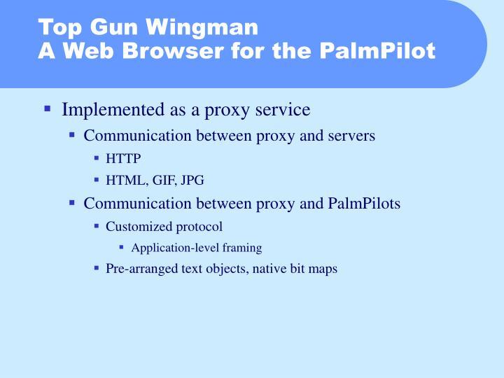 Top Gun Wingman