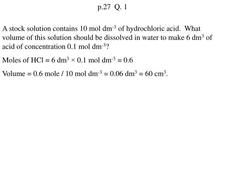 p.27  Q. 1