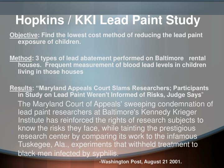 What Are The Risks Of Lead Face Paint