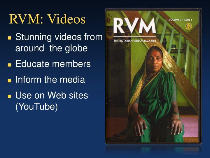 RVM: Videos