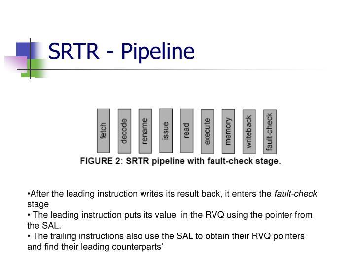 SRTR - Pipeline