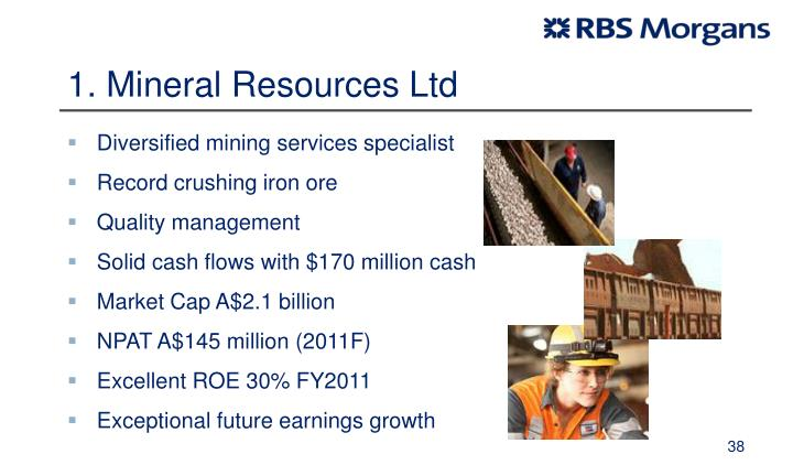 1. Mineral Resources Ltd
