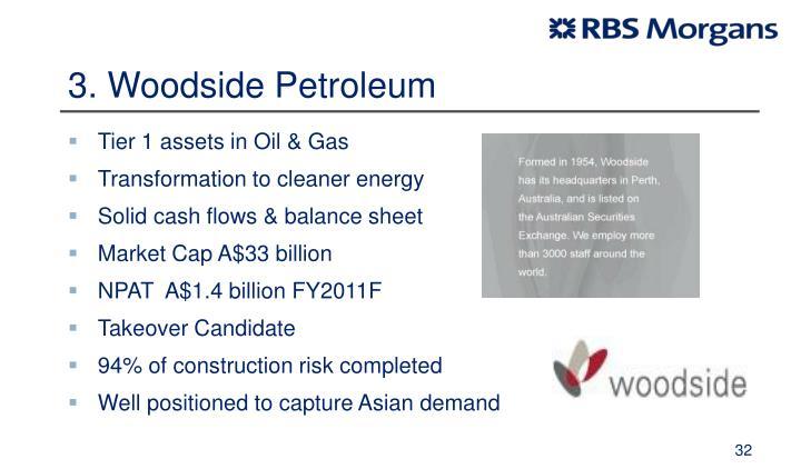 3. Woodside Petroleum