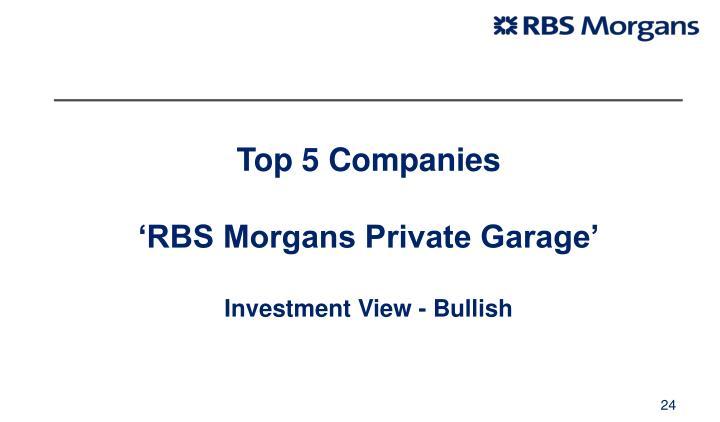Top 5 Companies