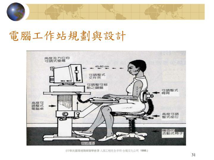 電腦工作站規劃與設計