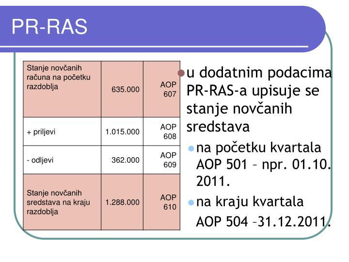 PR-RAS