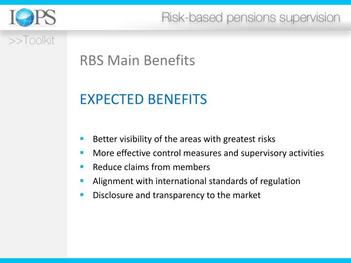 RBS Main Benefits