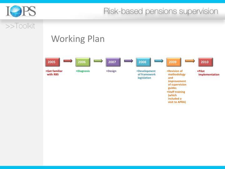 Working Plan