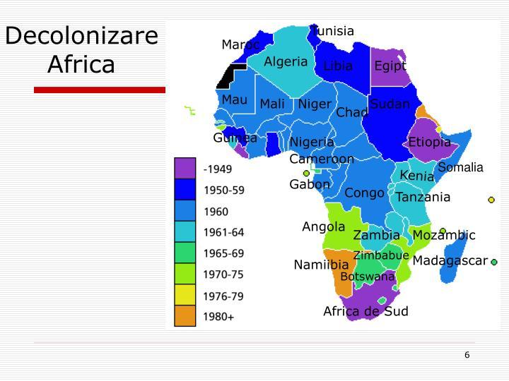 Decolonizare Africa