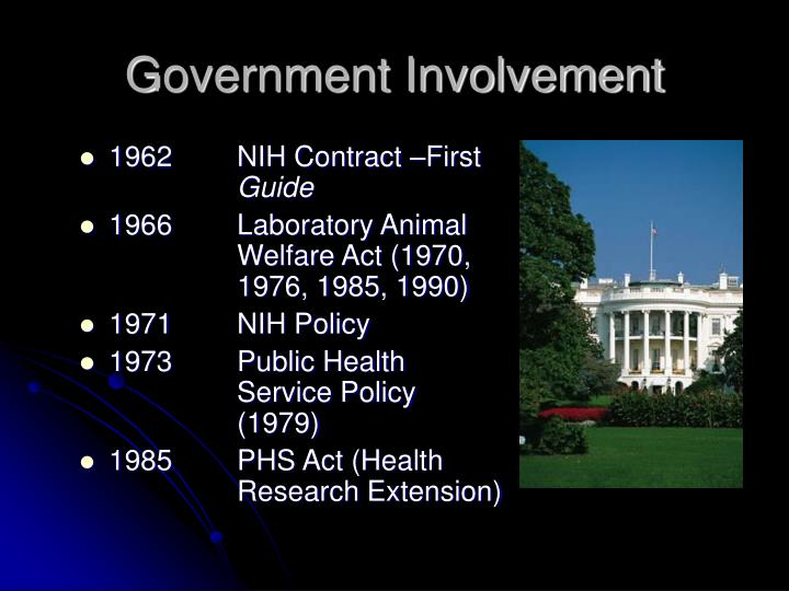 government involvement in the protection and We the citizens are the government, and we the citizens can direct it to fulfill its  finest goals  together to form structures of governance that protect and advance  the common good  community involvement is a foundation for public policy.
