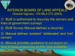 interior board of land appeals howard vagneur 159 ibla 272 2003