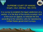 supreme court of kansas gnadt v durr 208 kan 783 1972