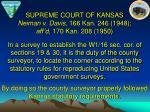supreme court of kansas neiman v davis 166 kan 246 1948 aff d 170 kan 208 1950