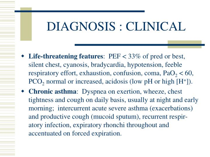 DIAGNOSIS : CLINICAL