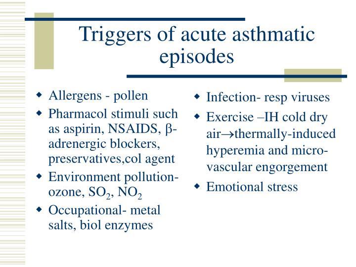 Allergens - pollen