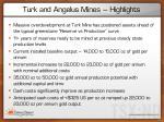 turk and angelus mines highlights