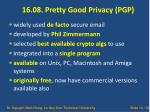 16 08 pretty good privacy pgp