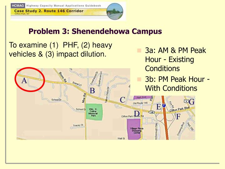 Problem 3 shenendehowa campus