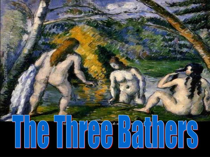 The Three Bathers