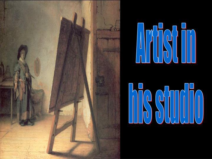 Artist in