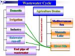 end pipe of wastewater