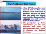 the problem of fish cages
