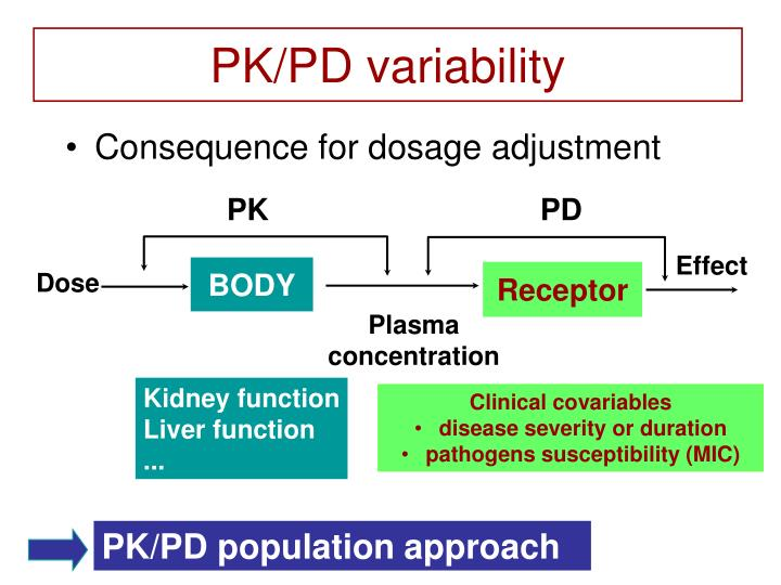 PK/PD variability