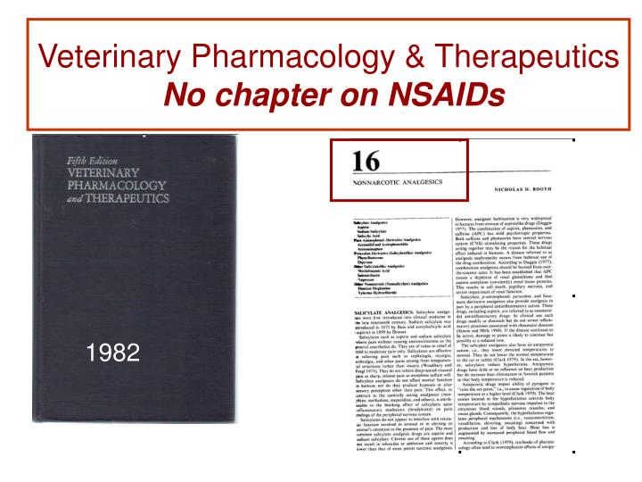 Veterinary Pharmacology & Therapeutics