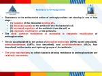 resistance to aminoglycosides