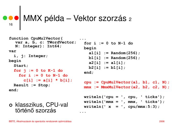 function CpuMulVector(