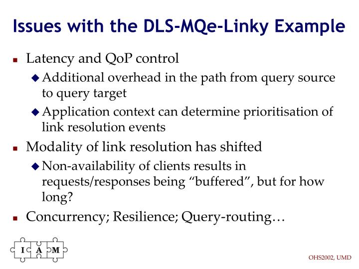 Issues with the DLS-MQe-Linky Example