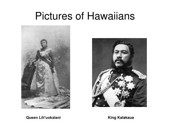 Pictures of Hawaiians