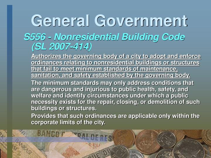 General Government