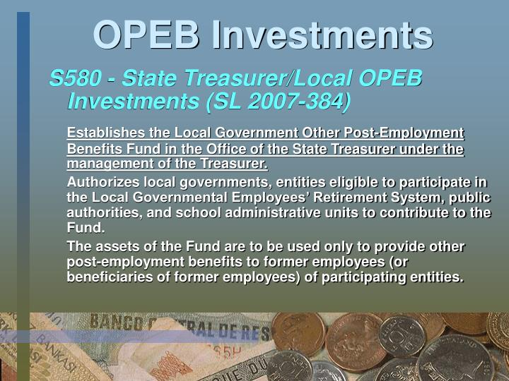 OPEB Investments