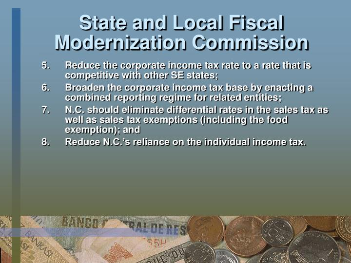 State and Local Fiscal Modernization Commission