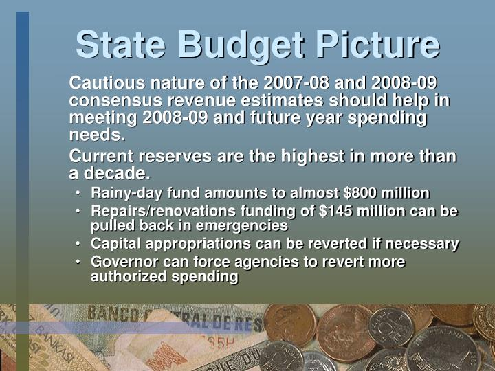 State Budget Picture