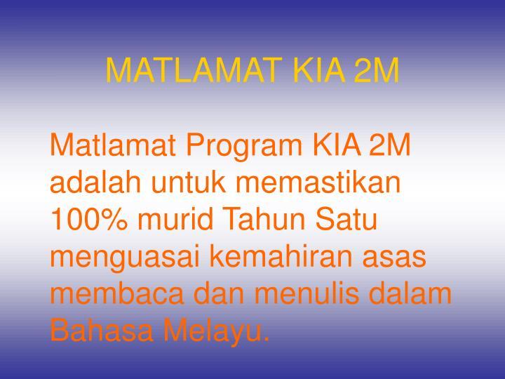 MATLAMAT KIA 2M