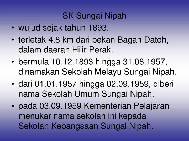 SK Sungai Nipah