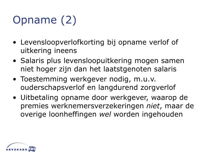 Opname (2)