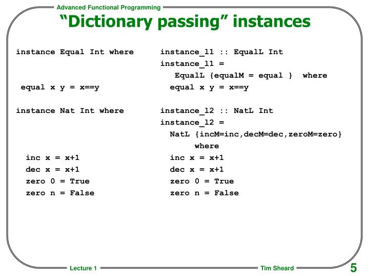 instance Equal Int where