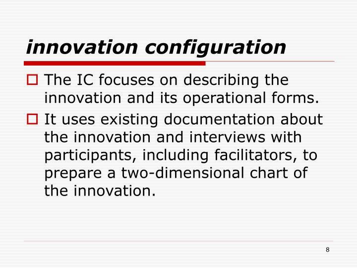 innovation configuration