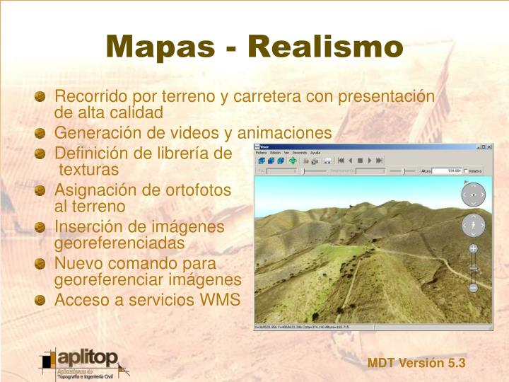Mapas - Realismo
