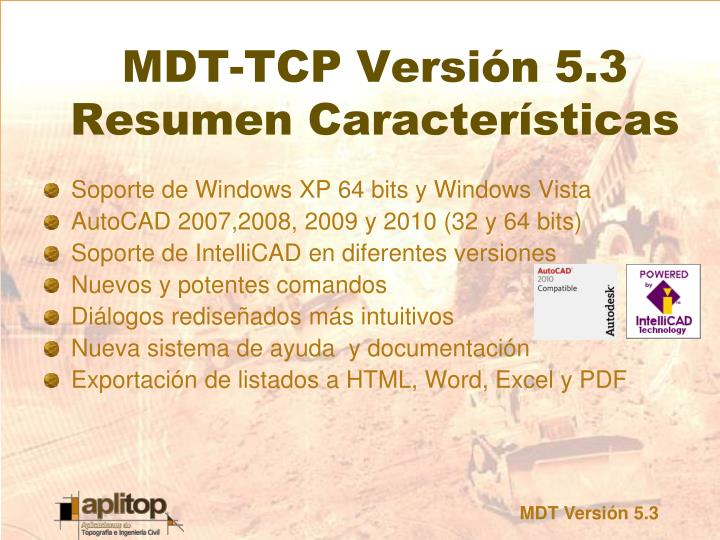 Soporte de Windows XP 64 bits y Windows Vista