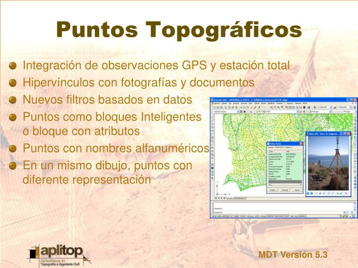Puntos Topográficos