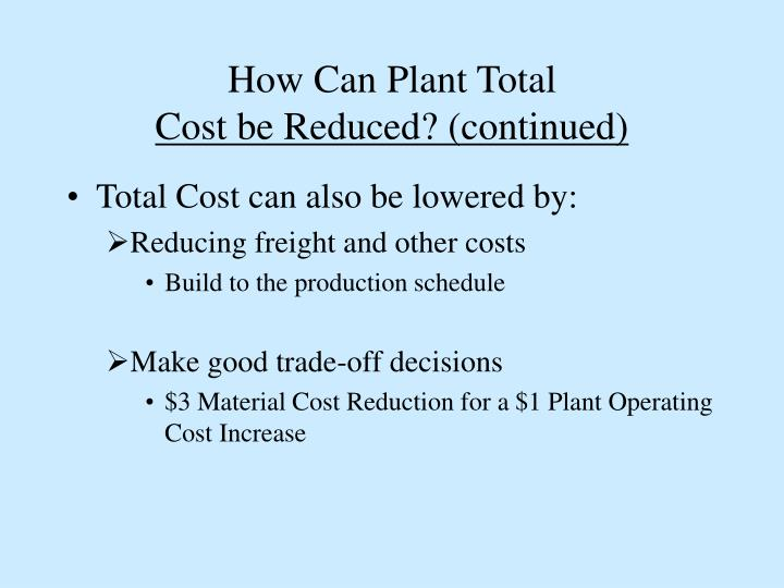 How Can Plant Total