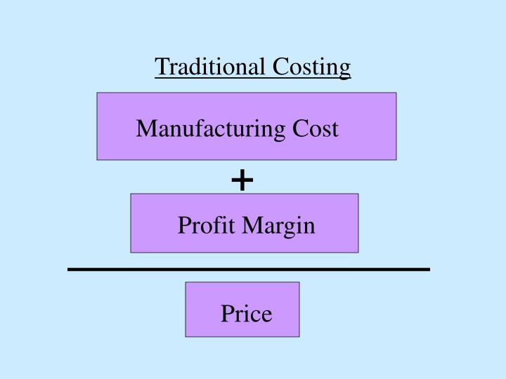 Traditional Costing